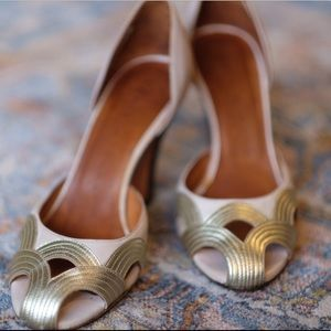 Chie Mihara Art Deco heels-size 39